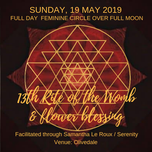 Sacred Womb Cleanse & Flower Blessing - 13th Rite of Munay